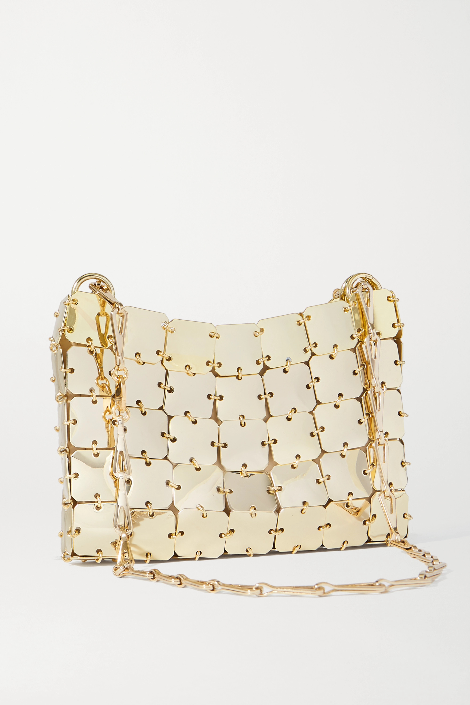 Paco Rabanne Nano 1969 chainmail shoulder bag