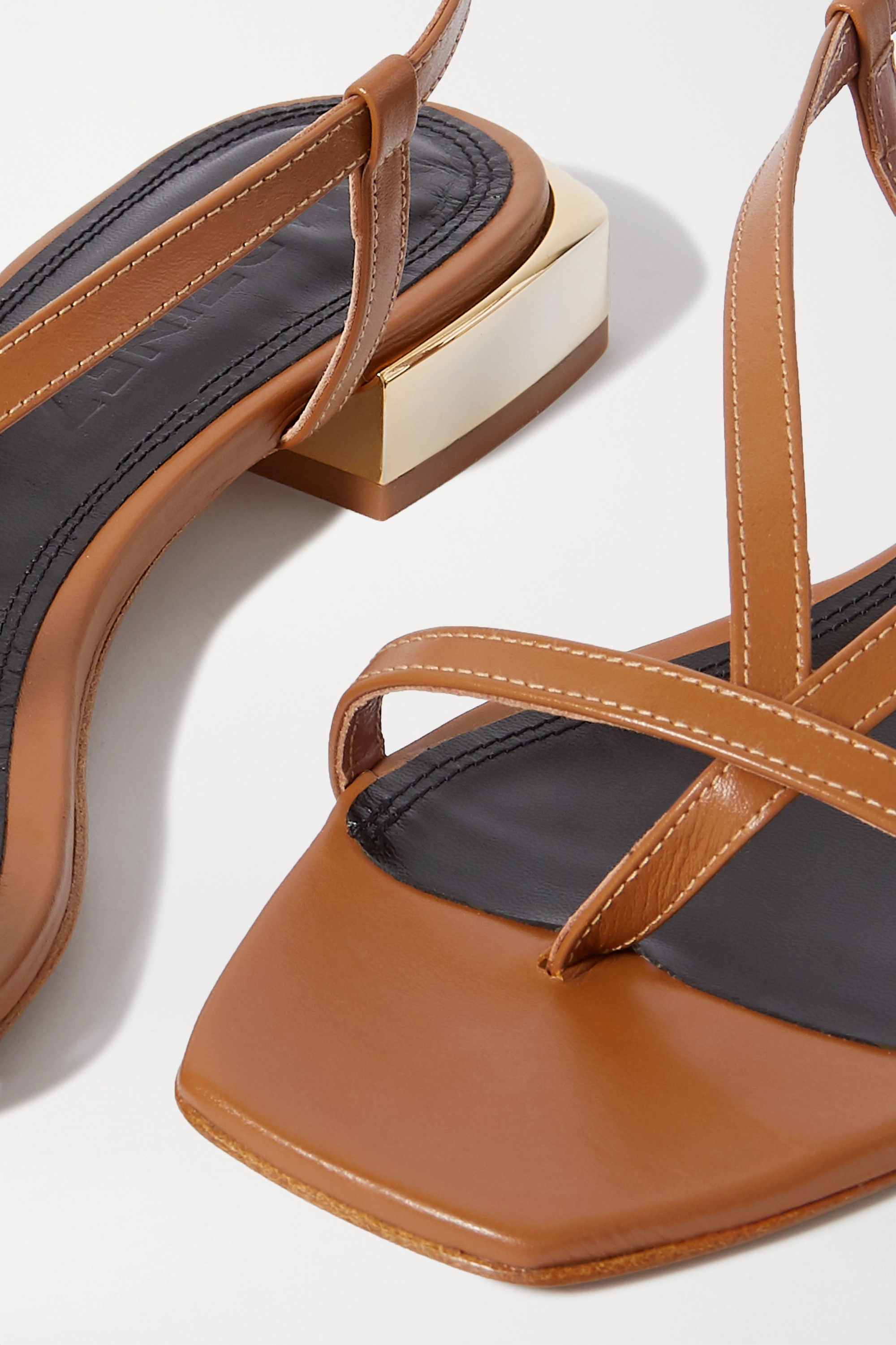 Souliers Martinez Paulina leather sandals