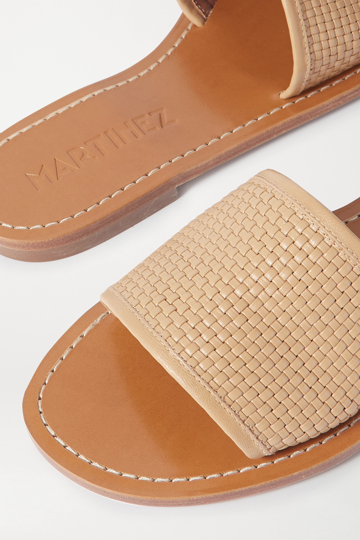 Souliers Martinez Playa Telar woven leather slides