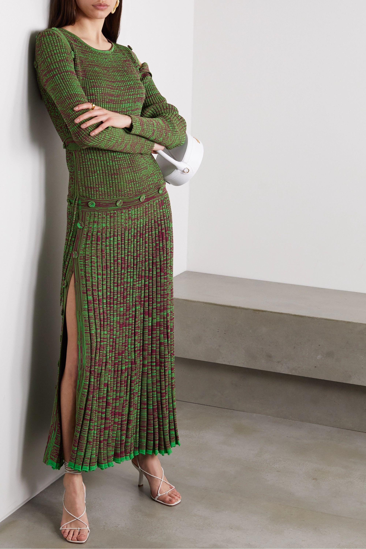 Christopher Esber Convertible ribbed-knit maxi dress