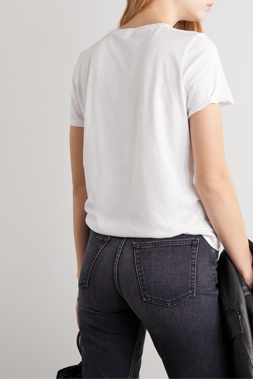 Ninety Percent International Women's Day printed organic cotton-jersey T-shirt