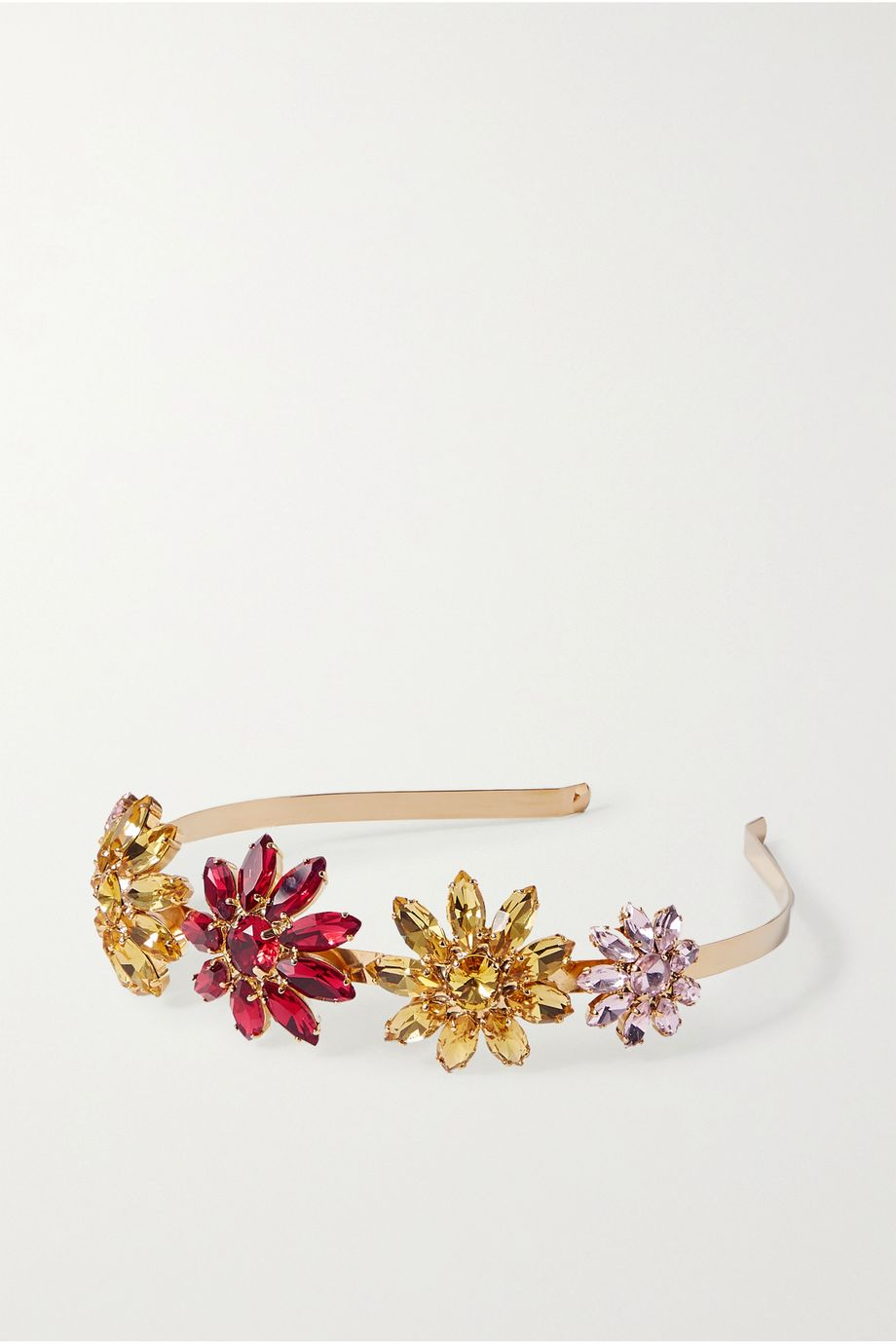 Rosantica Utopia gold-tone crystal headband