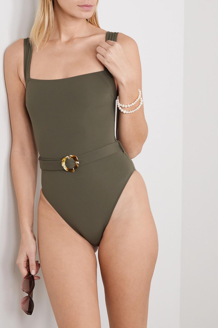 Fisch Blixen belted swimsuit
