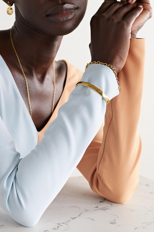 Rasa x Anna Beck Gold-plated cuff