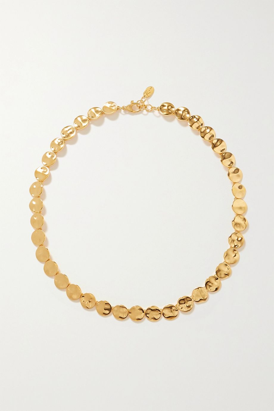 Rasa x Anna Beck Gold-plated necklace