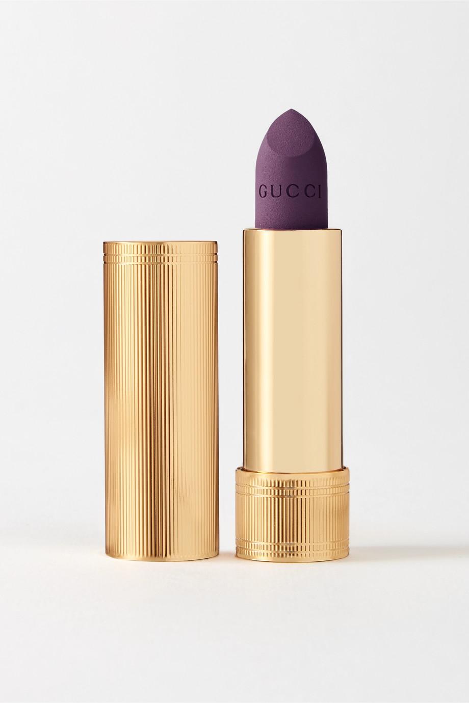 Gucci Beauty Rouge à Lèvres Gothique Lipstick – Sophie Plum 606 – Lippenstift