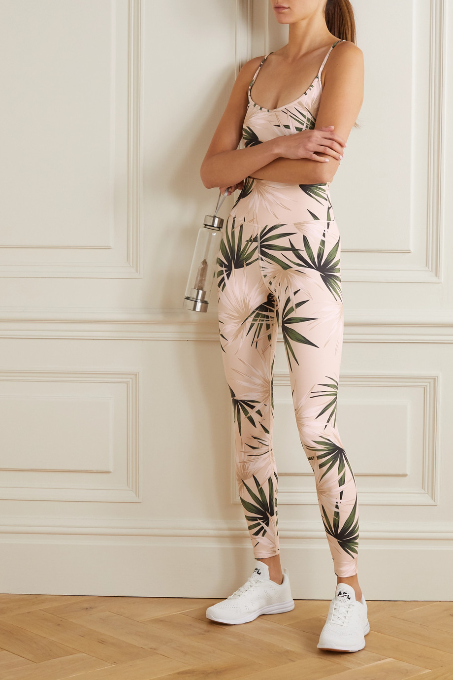 Beach Riot Piper Stretch-Leggings mit Print