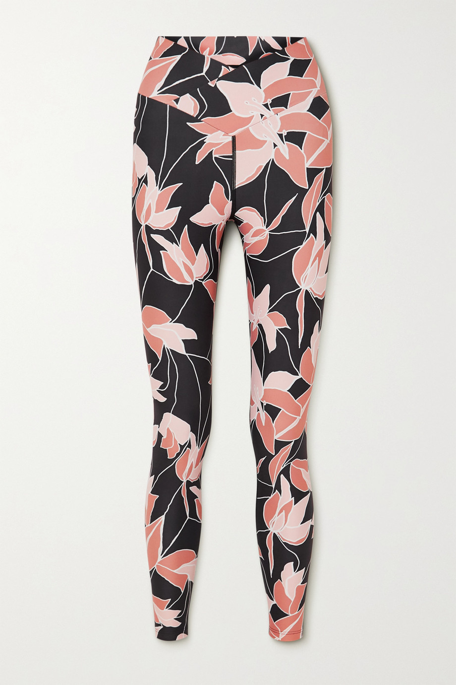Beach Riot Cara Stretch-Leggings mit Blumenprint