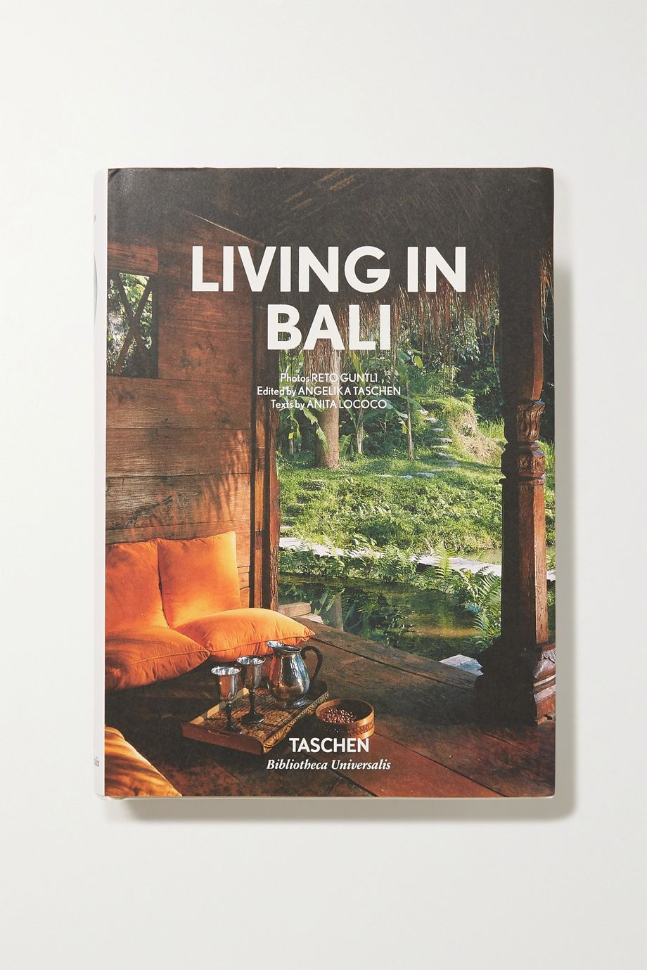 Taschen Living in Bali by Reto Guntli and Anita Lococo hardcover book