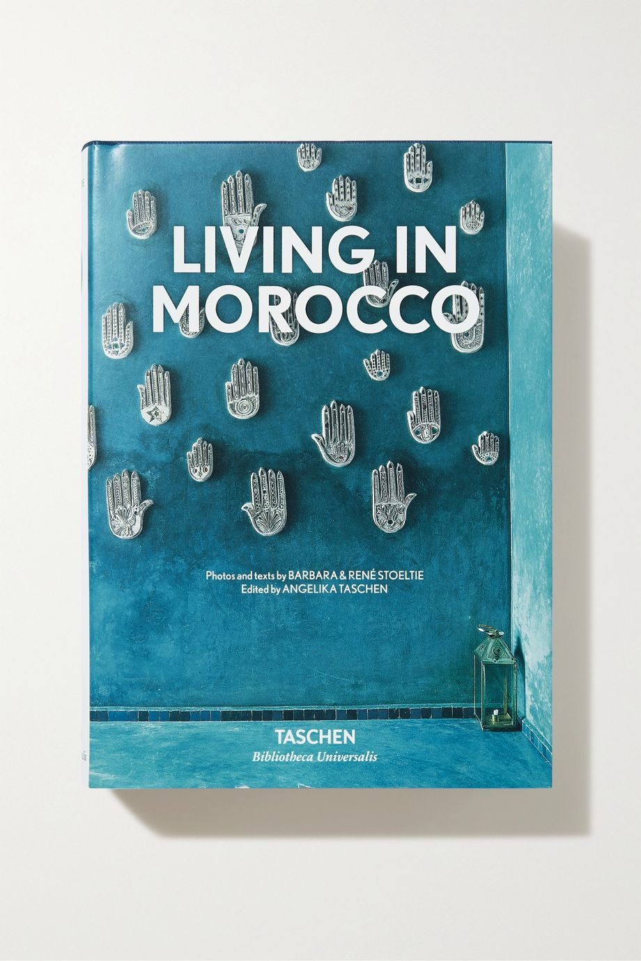 Taschen Living in Morocco by Barbara and René Stoeltie hardcover book