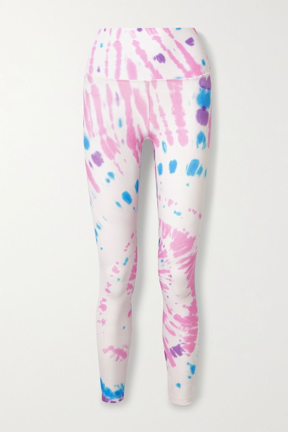 Splits59 Bardot Stretch-Leggings mit Batikmuster