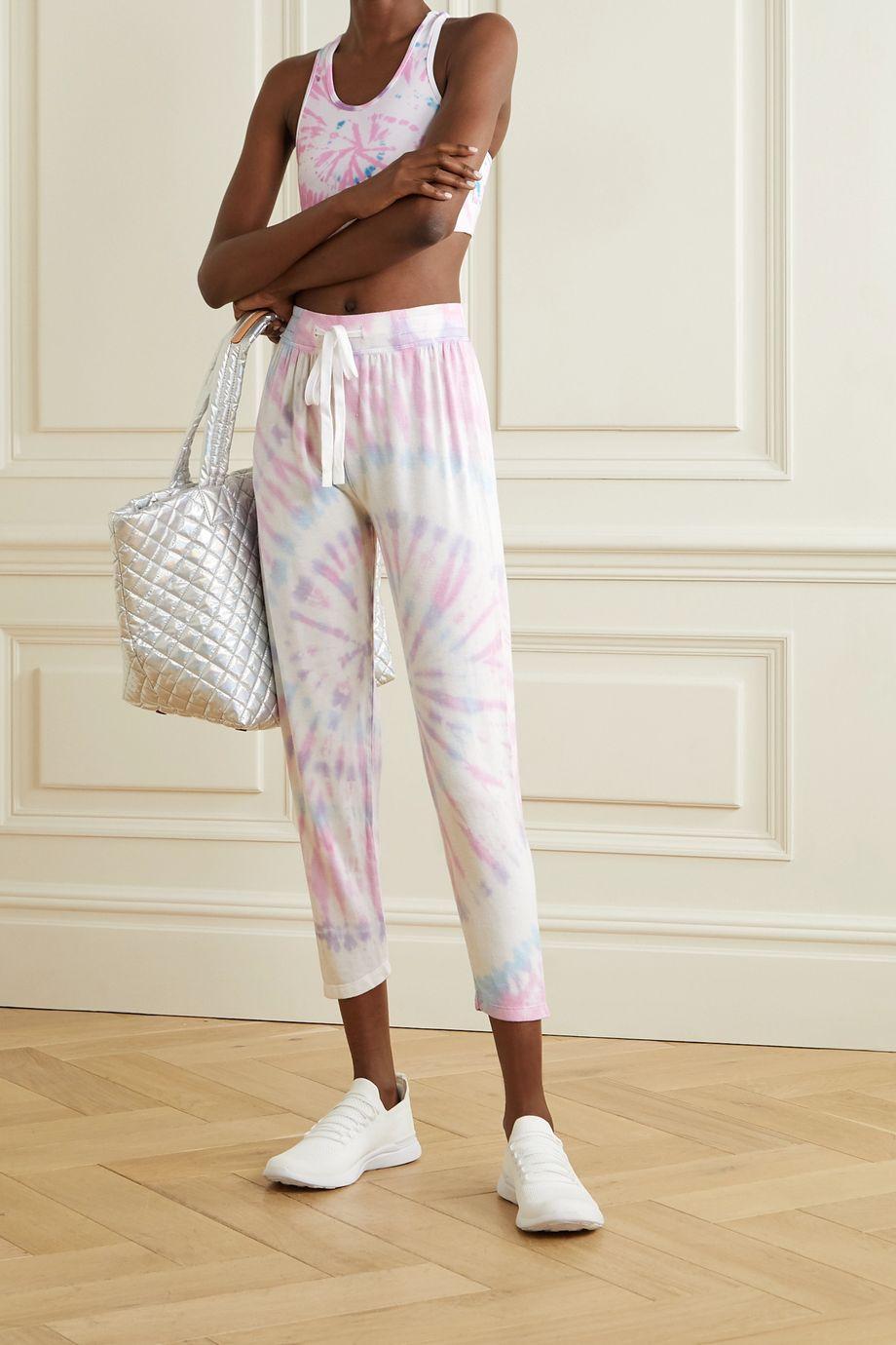Splits59 Pantalon de survêtement raccourci en modal stretch tie & dye Reena