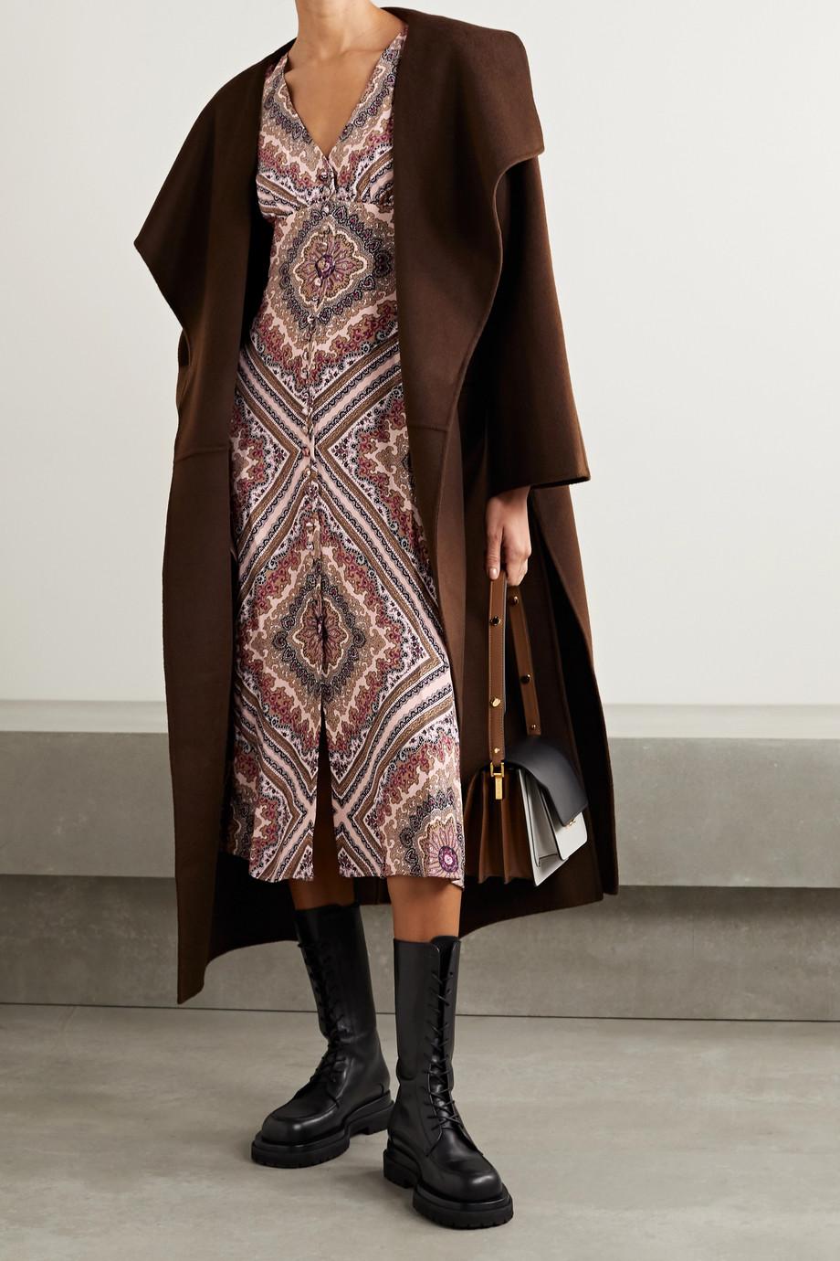MICHAEL Michael Kors Paisley-print crepe midi dress