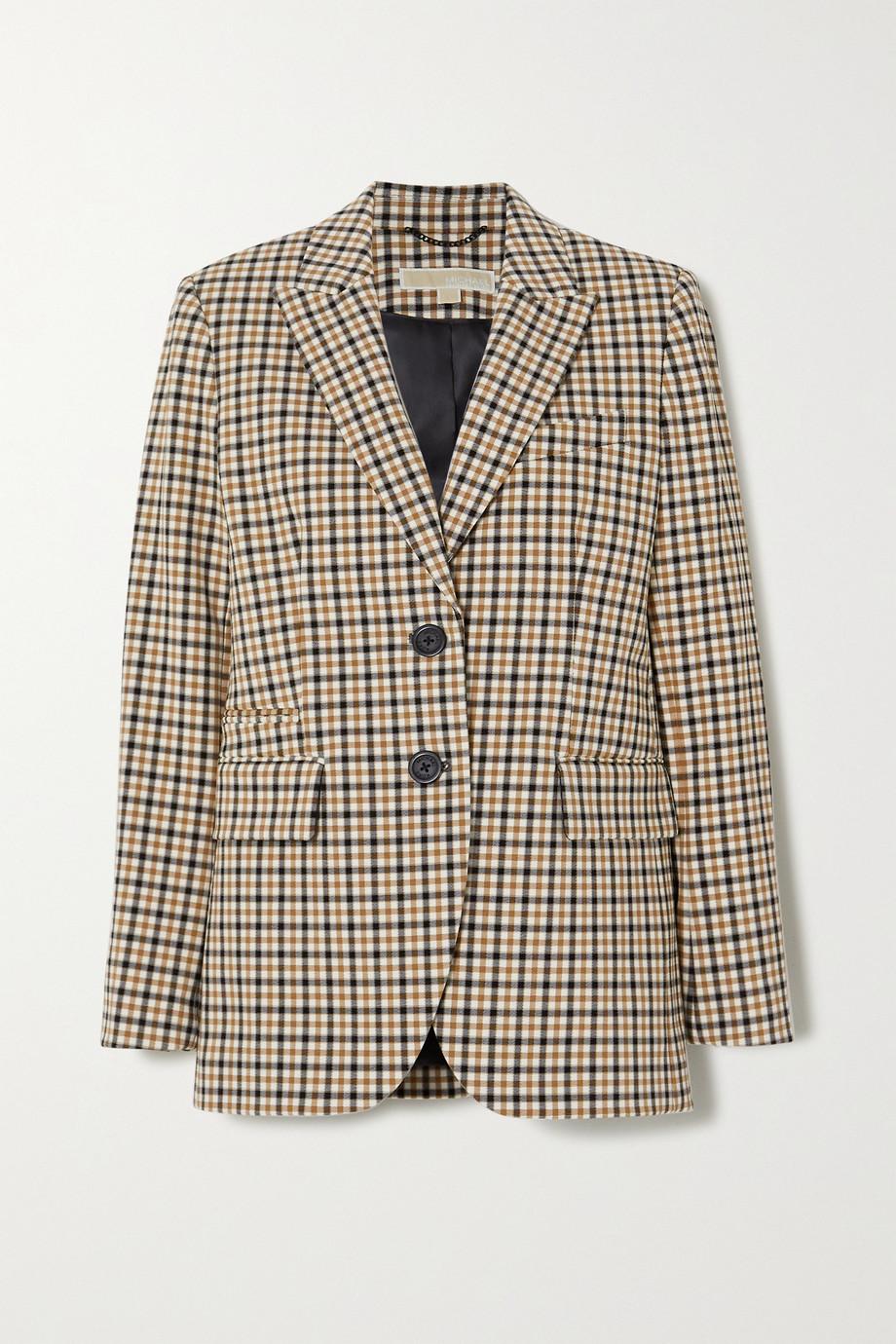 MICHAEL Michael Kors 格纹斜纹布西装外套