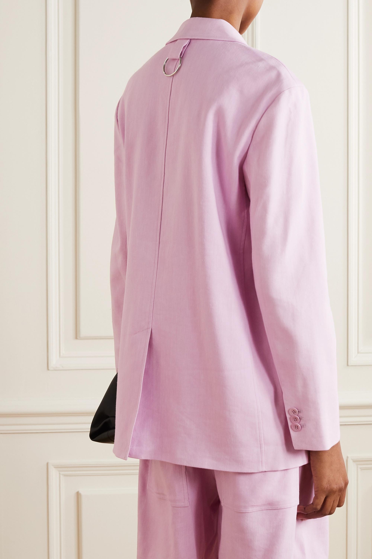 Tibi Linen-blend blazer