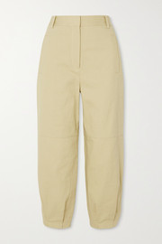 Tibi Cotton-twill tapered pants