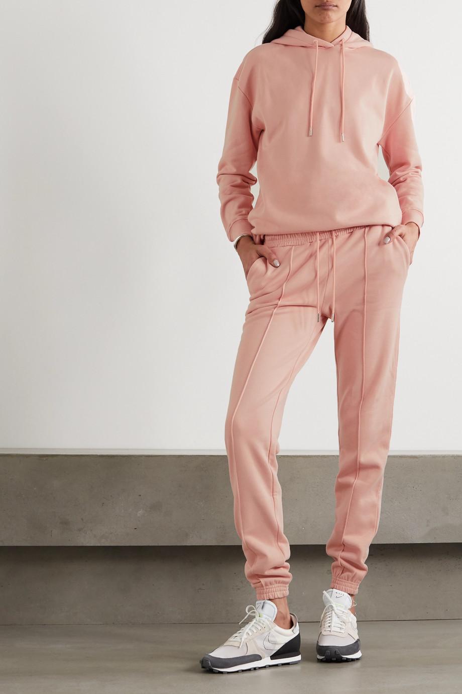 Ninety Percent + NET SUSTAIN organic cotton-jersey track pants