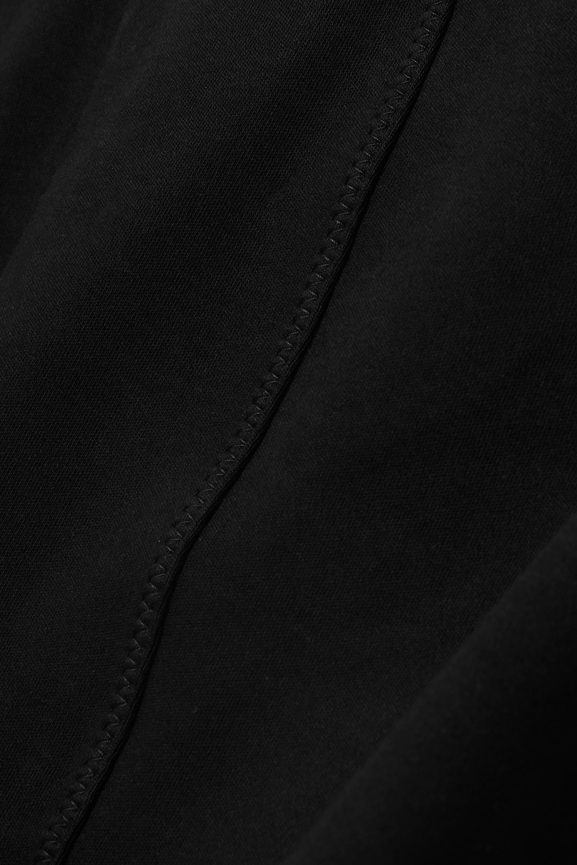 Ninety Percent 弹力有机棉质平纹布短裤