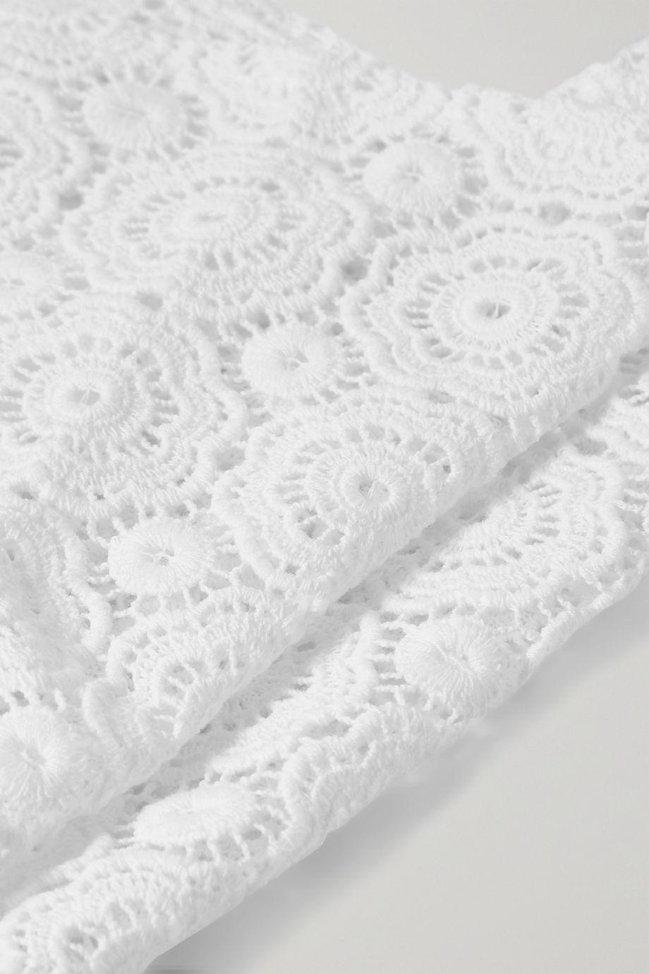Miguelina Martina Zopfband aus gehäkelter Baumwolle
