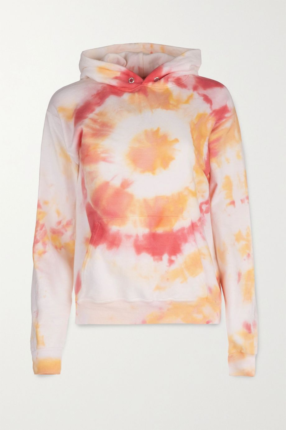 DANNIJO Kai tie-dyed cotton-jersey hoodie