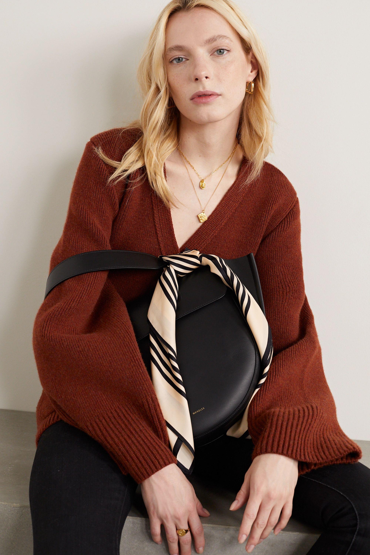 lescarf No. 1 Tuch aus Seiden-Twill mit Streifen