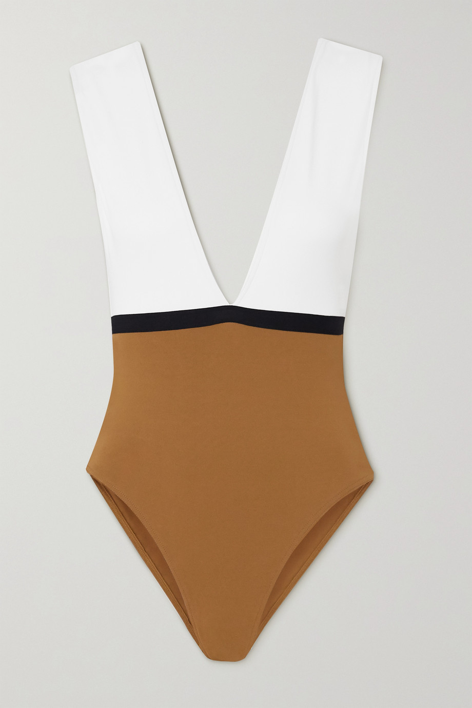 Eres Panama Ambera color-block swimsuit