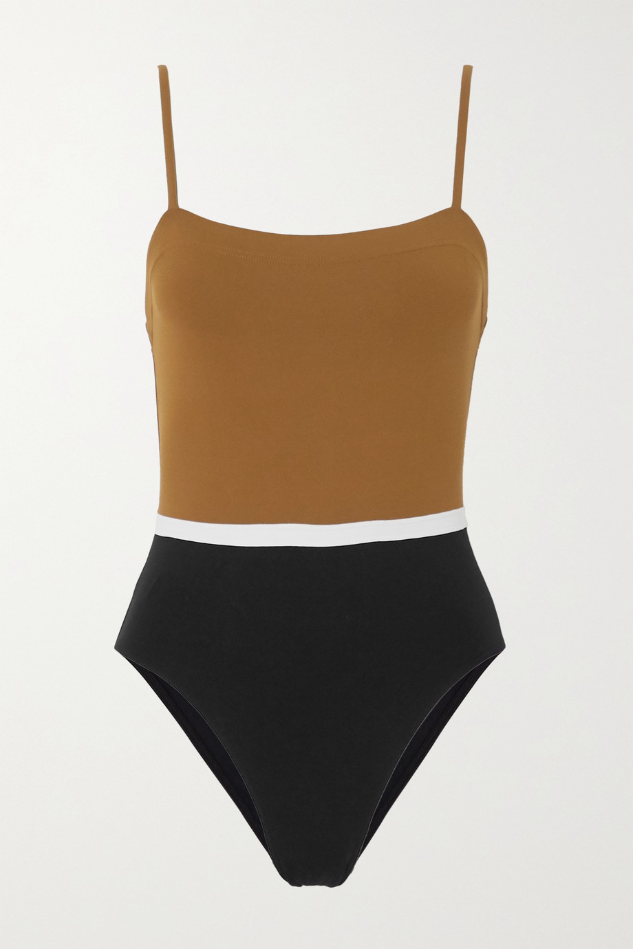 Eres Panama Ara color-block swimsuit