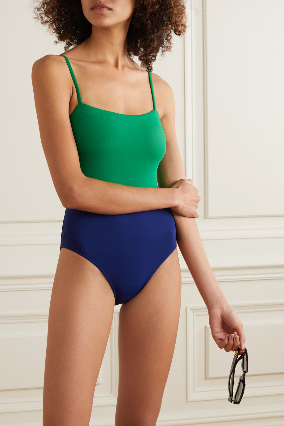 Eres Costa Rica Ara color-block swimsuit
