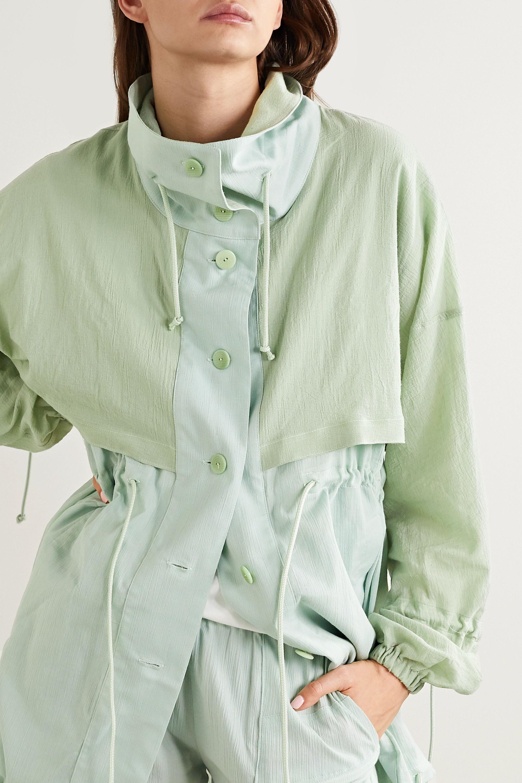 Paradised 褶皱纯棉薄纱外套