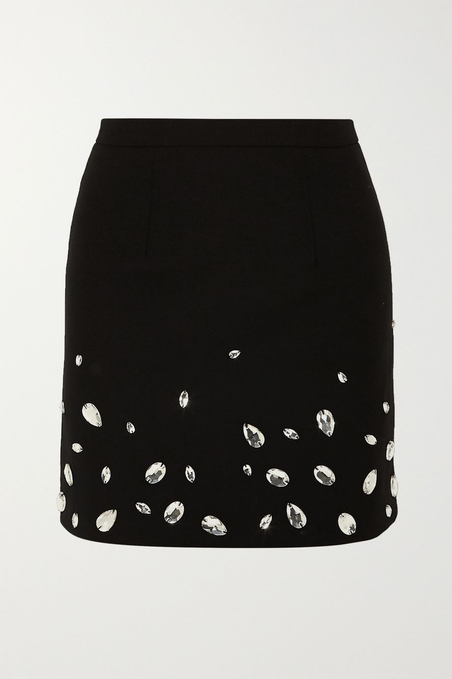 Christopher Kane Crystal-embellished cady mini skirt