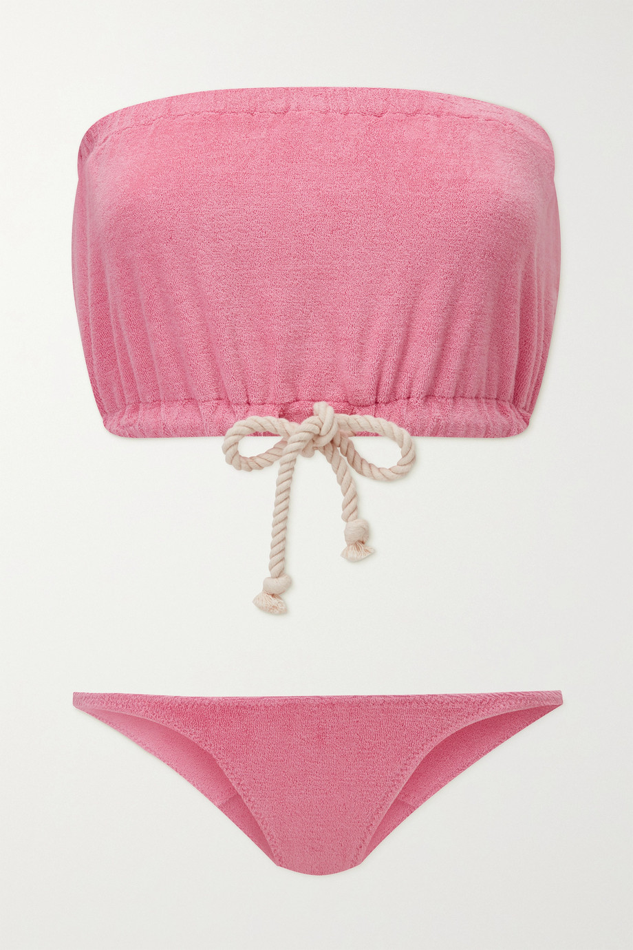 Lisa Marie Fernandez Victor stretch-cotton terry bikini