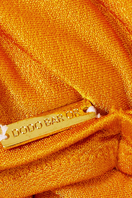 Dodo Bar Or Emma metallic underwired bikini top
