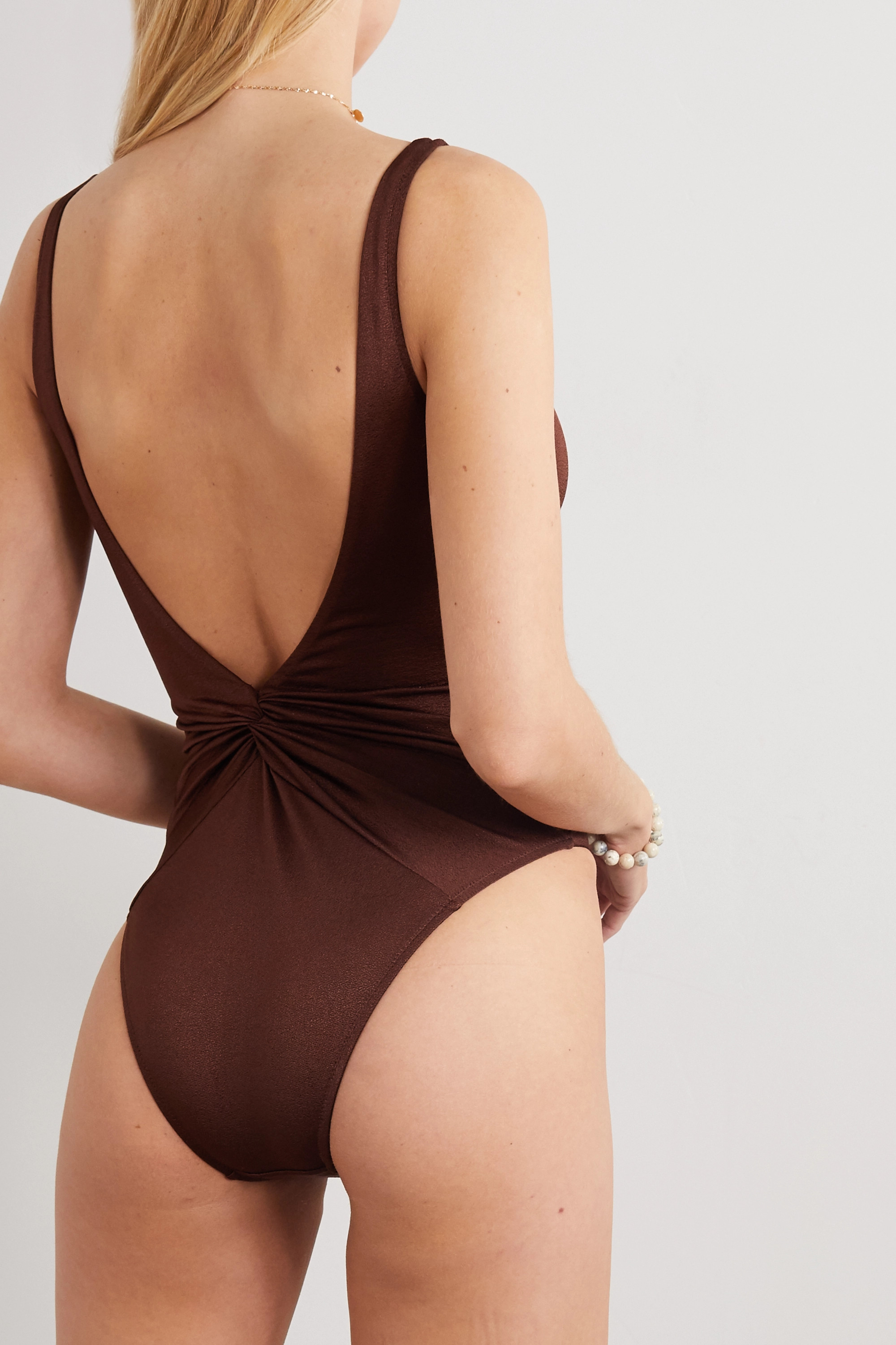 Dodo Bar Or Tannie knotted swimsuit
