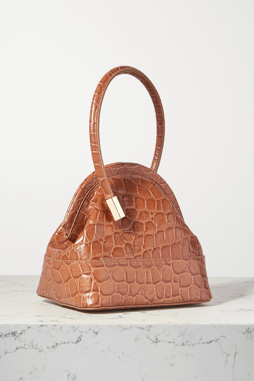 Louise Et Cie Isel croc-effect leather tote
