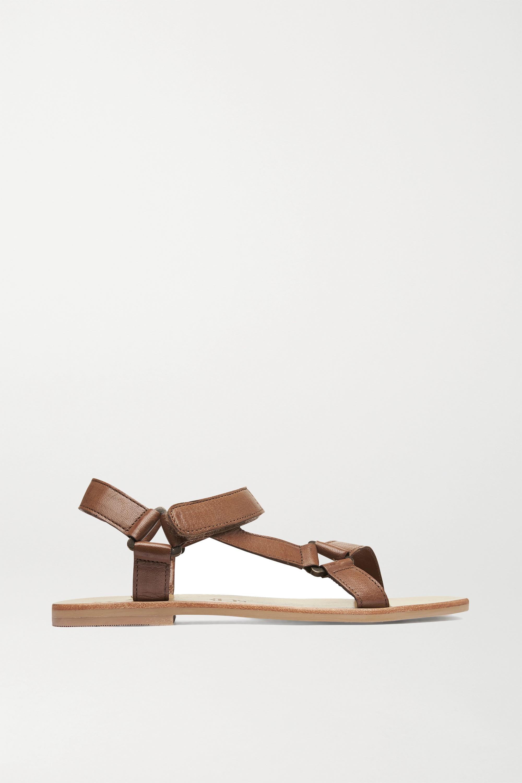 ST. AGNI Sportsu Sandalen aus Leder