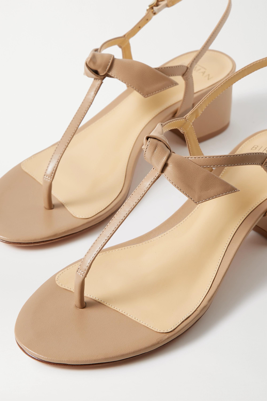 Alexandre Birman Clarita bow-embellished leather sandals