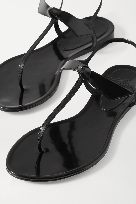 Alexandre Birman Clarita bow-embellished rubber sandals