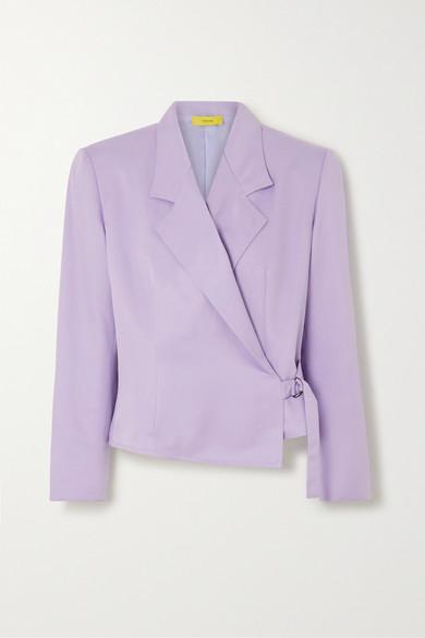 Pyer Moss - Twill Blazer - Lavender