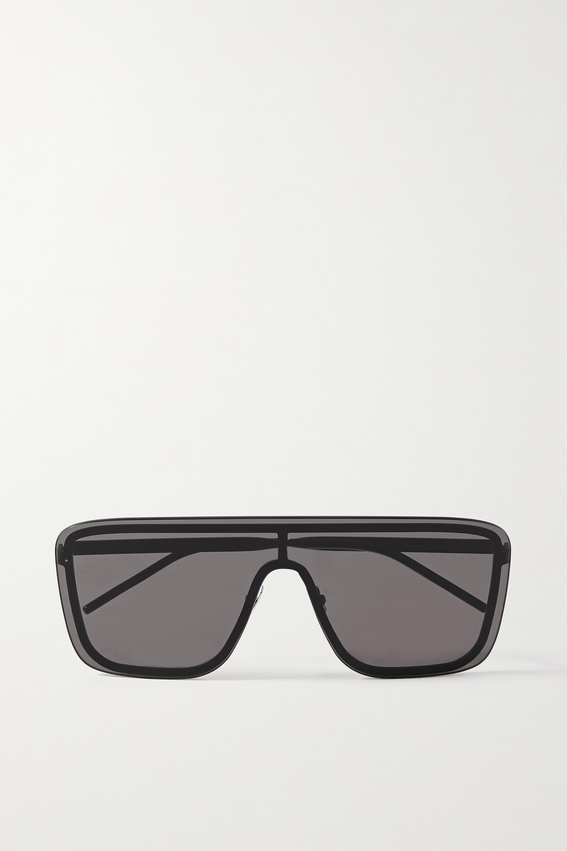 SAINT LAURENT D-frame metal sunglasses