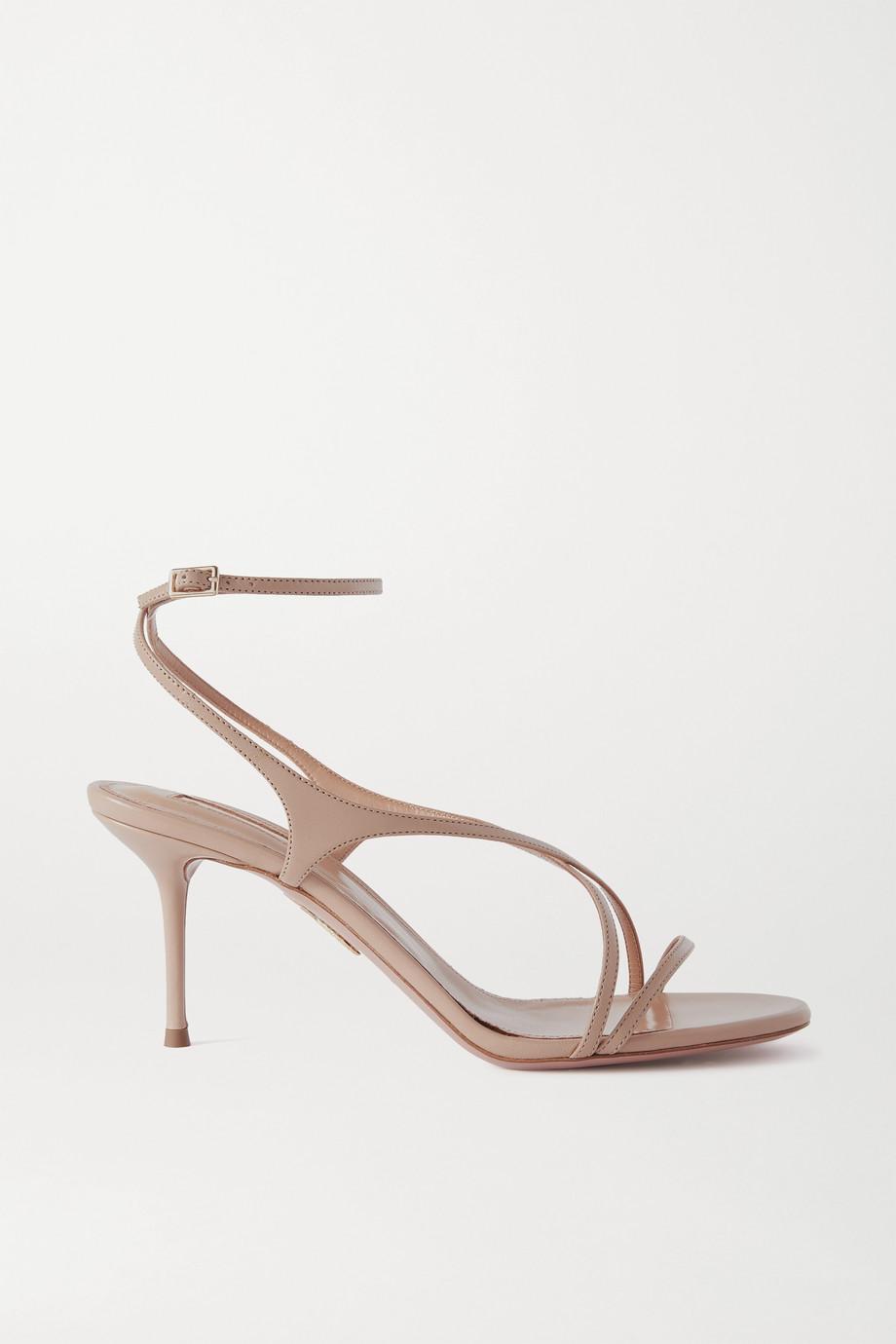Aquazzura Candie 75 leather sandals