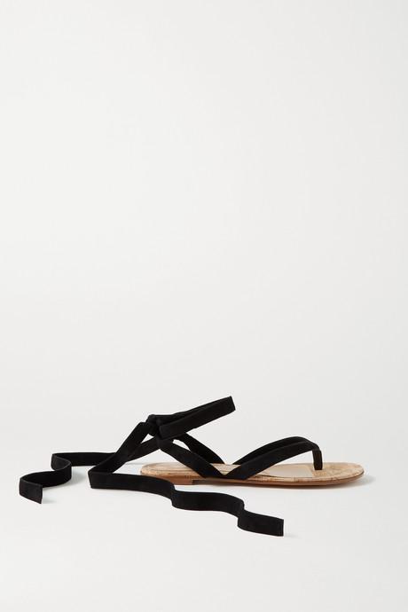 Black Suede sandals | Gianvito Rossi xKYoHw
