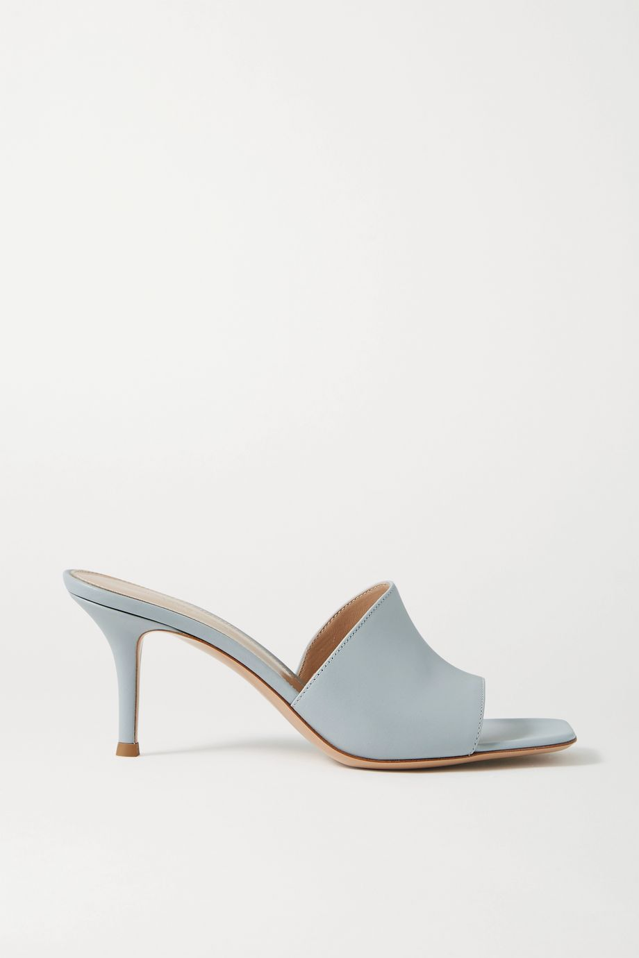 Gianvito Rossi 70 leather mules