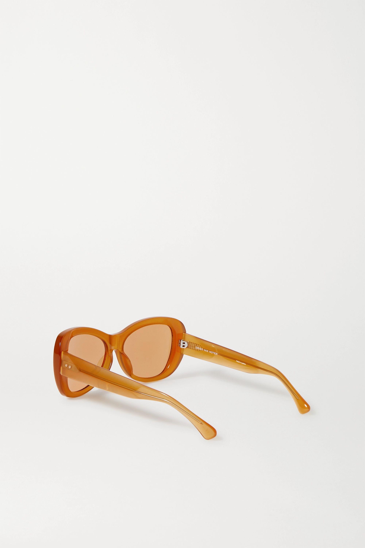 Dries Van Noten Round-frame acetate sunglasses