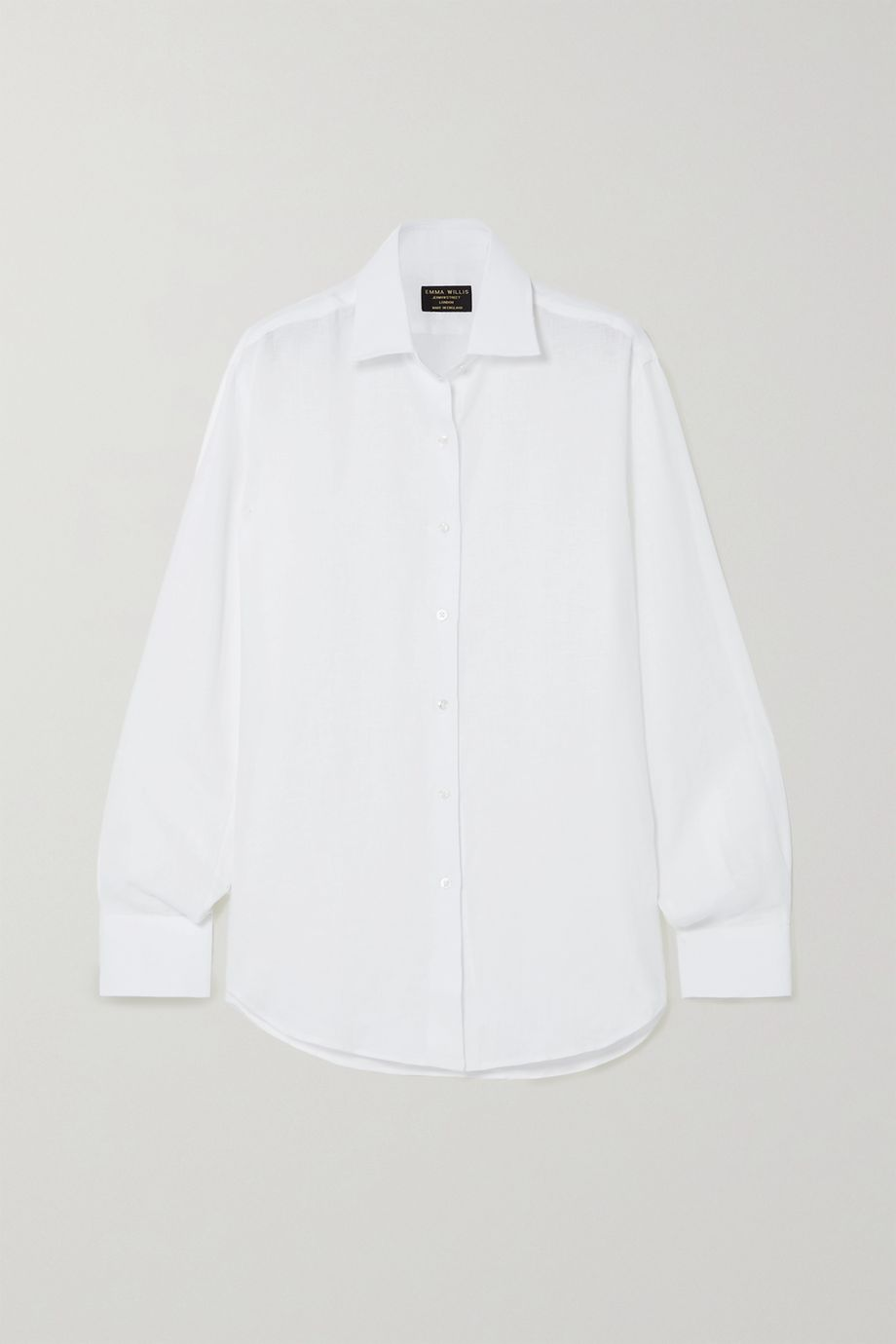 Emma Willis Jermyn Street Hemd aus Leinen