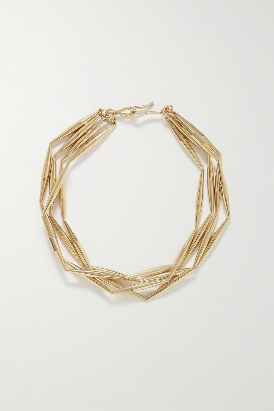 Tohum Helia gold-plated necklace