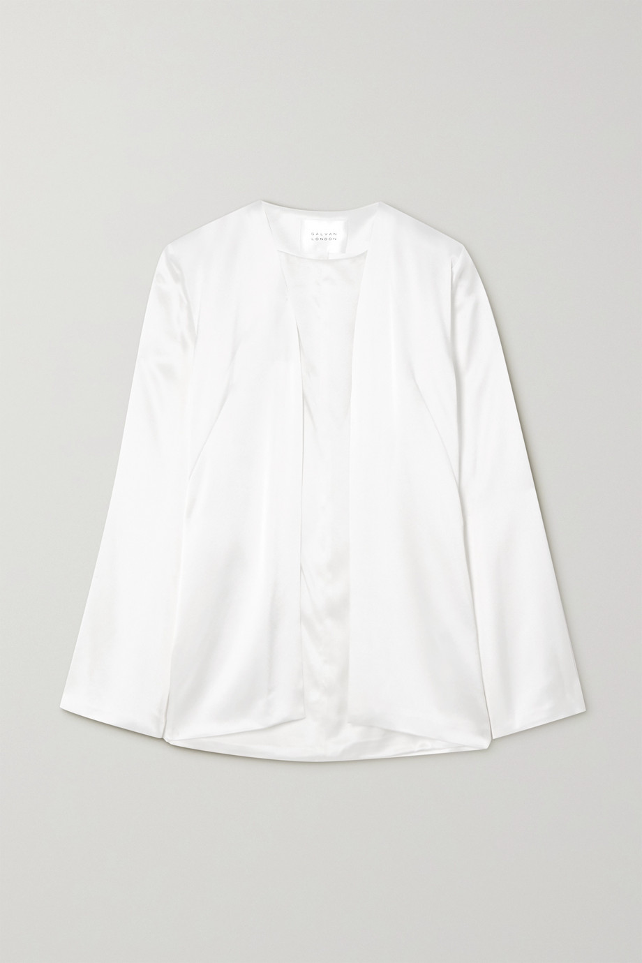 Galvan Blenheim 缎布外套