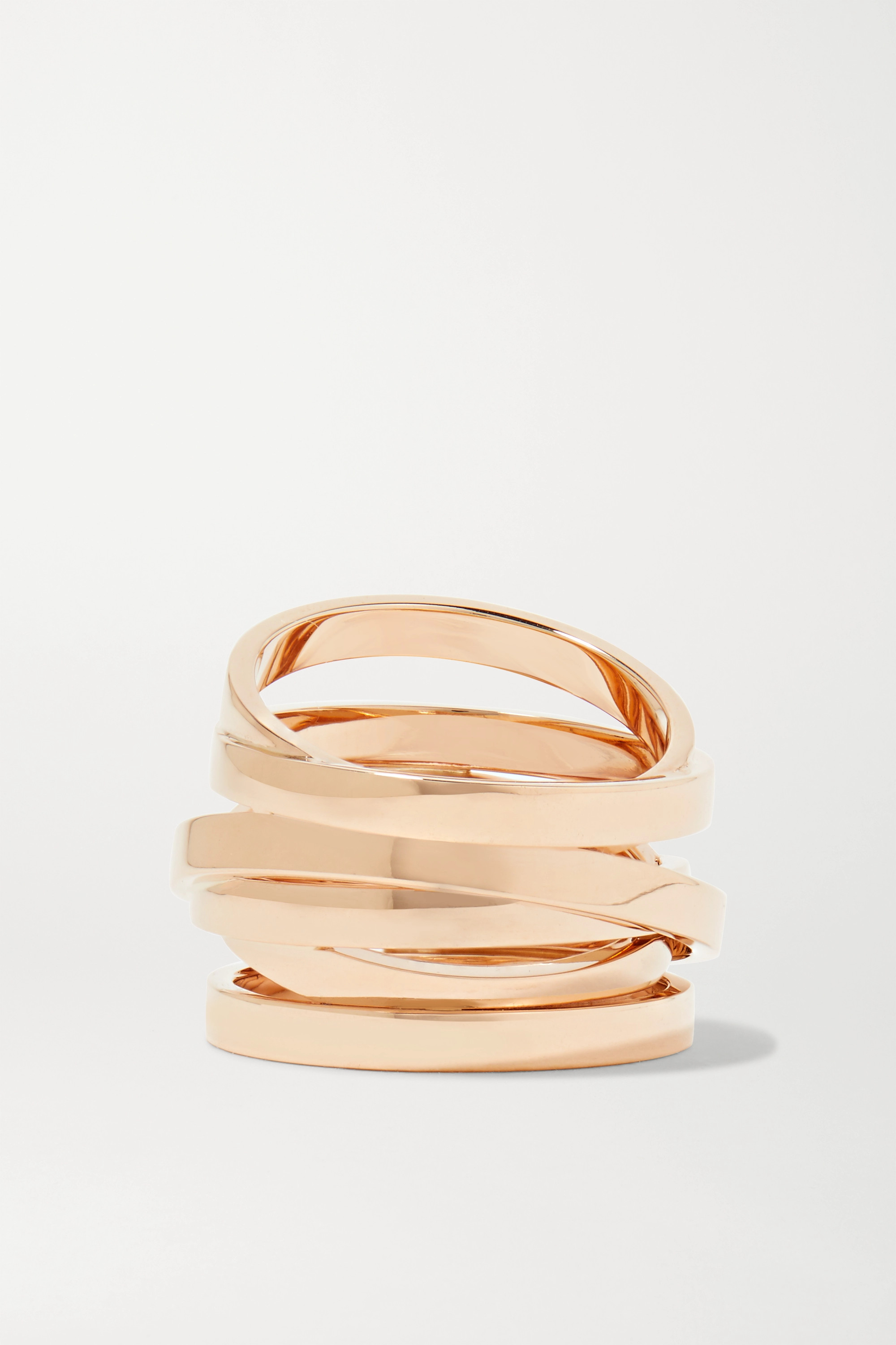 Repossi Technical Berbère Ring aus 18 Karat Roségold