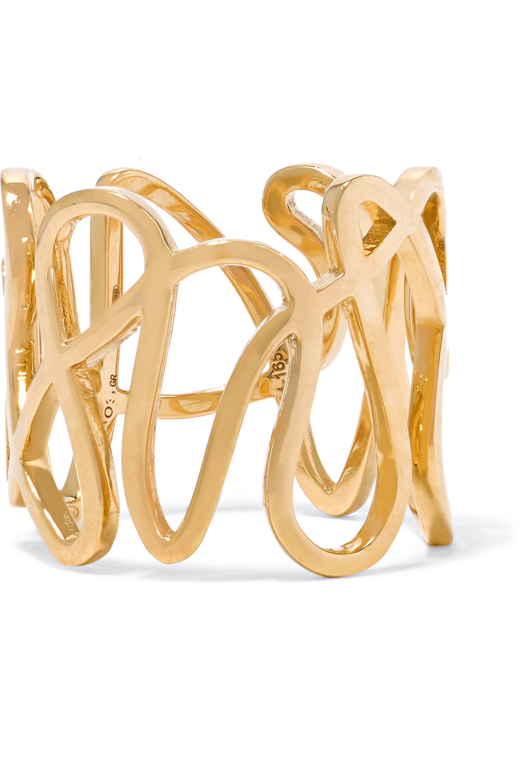 Repossi White Noise 18-karat gold ring