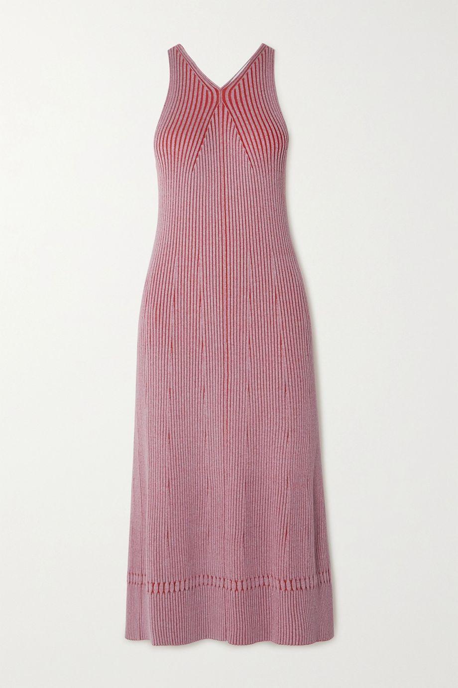 Proenza Schouler White Label Ribbed-knit midi dress