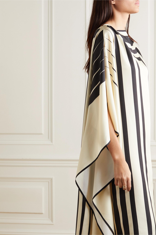 Louisa Parris Lucas printed silk-twill maxi dress